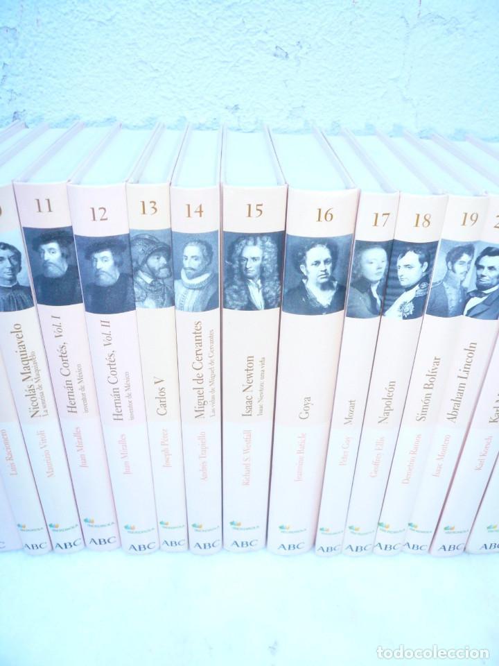 Libros de segunda mano: BIBLIOTECA ABC PROTAGONISTAS DE LA HISTORIA. COMPLETA 25 VOLÚMENES. NUEVOS - Foto 7 - 116597639
