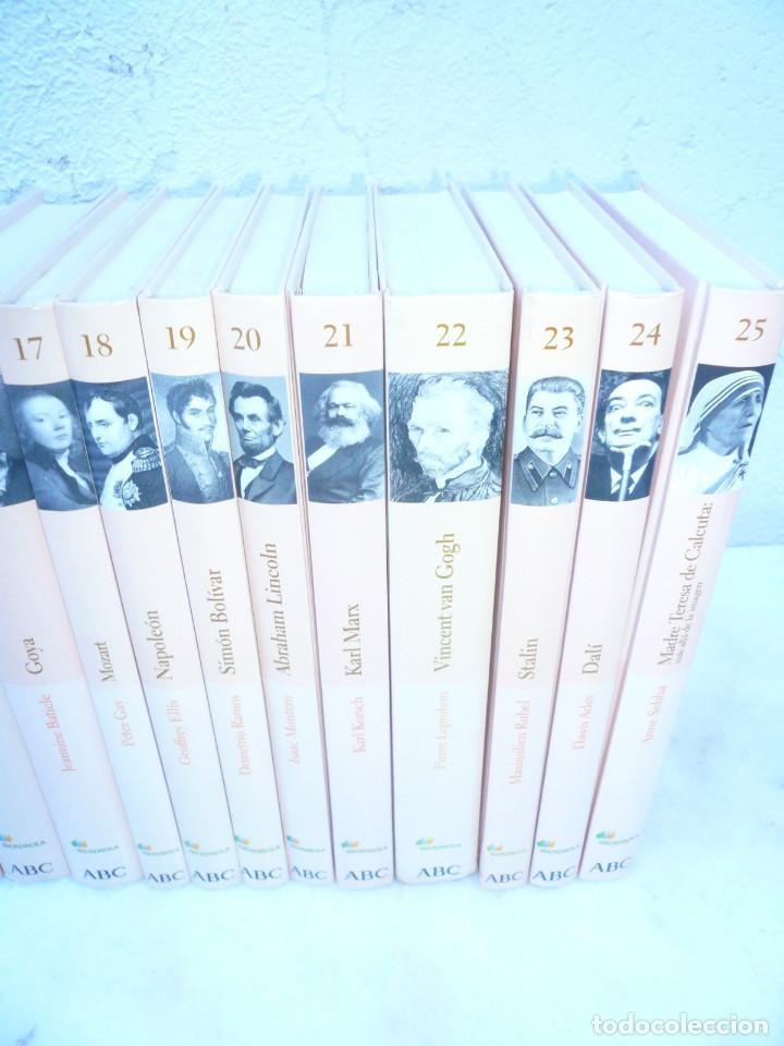 Libros de segunda mano: BIBLIOTECA ABC PROTAGONISTAS DE LA HISTORIA. COMPLETA 25 VOLÚMENES. NUEVOS - Foto 8 - 116597639