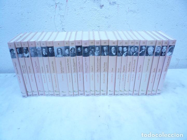 Libros de segunda mano: BIBLIOTECA ABC PROTAGONISTAS DE LA HISTORIA. COMPLETA 25 VOLÚMENES. NUEVOS - Foto 9 - 116597639