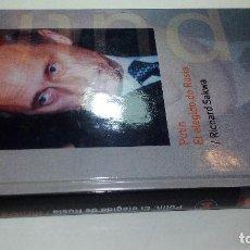 Libros de segunda mano: BIOGRAFIAS VIVAS ABC-PUTIN EL ELEGIDO DE RUSIA RICHARD SAKWA. Lote 116658311