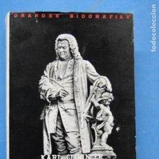Libri di seconda mano: LA FAMILIA DE LOS BACH , SIETE GENERACIONES DE GENIO CREADOR .- KARL GEIRINGER. Lote 116927699