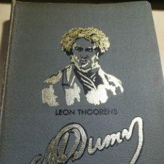 Libros de segunda mano: LA FECUNDA VIDA DE ALEJANDRO DUMAS--LEON THOORENS-EDITORIAL RENACIMIENTO-1º EDICIÓN-1960. Lote 117093095