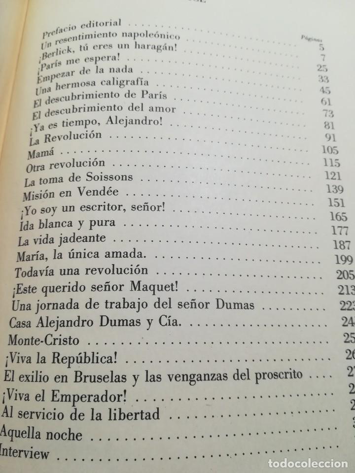 Libros de segunda mano: La fecunda vida de Alejandro Dumas--Leon Thoorens-Editorial Renacimiento-1º edición-1960 - Foto 6 - 117093095