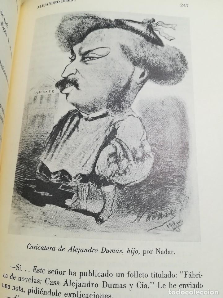 Libros de segunda mano: La fecunda vida de Alejandro Dumas--Leon Thoorens-Editorial Renacimiento-1º edición-1960 - Foto 7 - 117093095