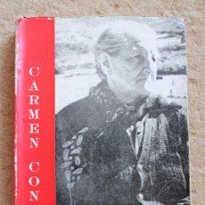 Libros de segunda mano: ACOMPAÑANDO A FRANCISCA SÁNCHEZ. (RESUMEN DE UNA VIDA JUNTO A RUBÉN DARÍO). CONDE (CARMEN). Lote 118433807