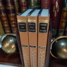 Libros de segunda mano: LOTE GRANDES JEFES MILITARES - 3 TOMOS - MONTGOMERY, MAC ARTHUR, ROMMEL - 1975 - MADRID - . Lote 118770255