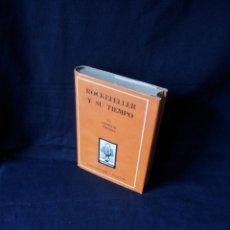 Libros de segunda mano: CLEMENTE CIMORRA - ROCKEFELLER Y SU TIEMPO - COLECCIÓN ORO 104-105 - ATLÁNTIDA PRIMERA EDICION 1946. Lote 119836211