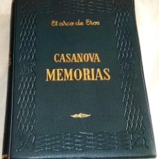 Libros de segunda mano: JACOBO CASANOVA MEMORIAS I - EDAF, EL ARCO DE EROS 1962. Lote 120447799