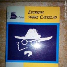 Libros de segunda mano: ESCRITOS SOBRE CASTELAO, RICARDO CARVALHO CALERO, EDICION GOTELO BLANCO 1989. Lote 120487043