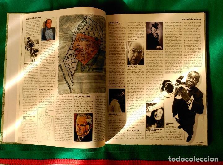 LOS MIL PROTAGONISTAS DEL SIGLO XX - EDITADO EN 1992 POR EL PAIS (Libros de Segunda Mano - Biografías)