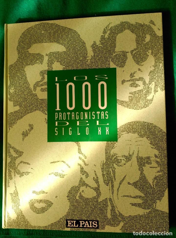 Libros de segunda mano: LOS MIL PROTAGONISTAS DEL SIGLO XX - EDITADO EN 1992 POR EL PAIS - Foto 2 - 120995435