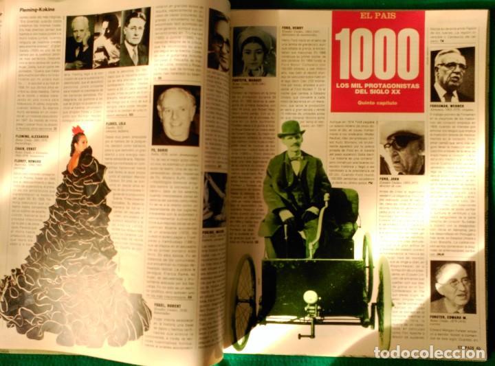 Libros de segunda mano: LOS MIL PROTAGONISTAS DEL SIGLO XX - EDITADO EN 1992 POR EL PAIS - Foto 12 - 120995435