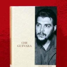 Libros de segunda mano: CHE GUEVARA, UNA VIDA EN ROJO - BIOGRAFIA, POR JORGE G. CASTAÑEDA, BIBLIOTECA ABC, EDIT FOLIO, NUEVO. Lote 121289039