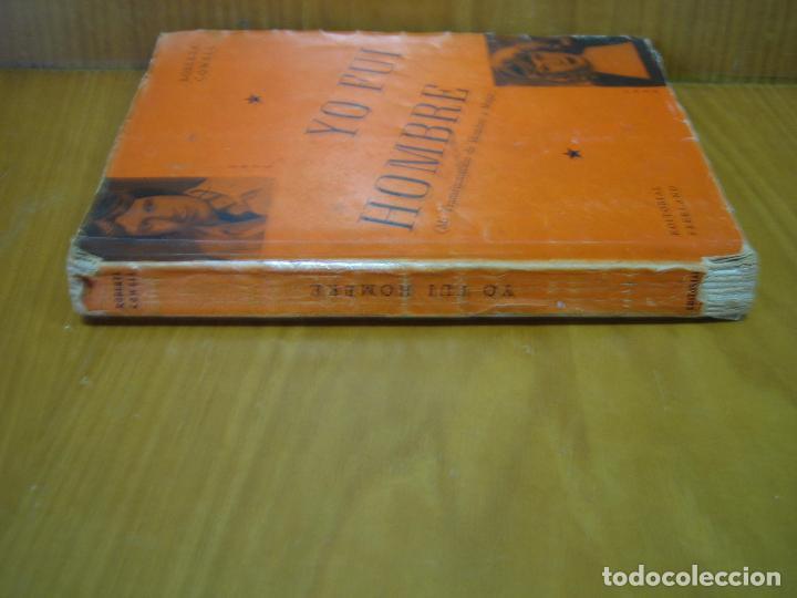 Libros de segunda mano: 1. Yo fui hombre. Roberta Cowell 1954 - Foto 2 - 121434095
