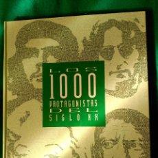 Libros de segunda mano: LOS MIL PROTAGONISTAS DEL SIGLO XX - EDITADO EN 1992 POR EL PAIS . Lote 121918307