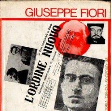Libros de segunda mano: FIORI : VIDA DE ANTONIO GRAMSCI (PENÍNSULA, 1968). Lote 122194015