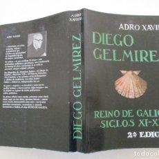 Libros de segunda mano: ADRO XAVIER DIEGO GELMÍREZ. REINO DE GALICIA – SIGLOS XI Y XII. RM86506. Lote 122577827