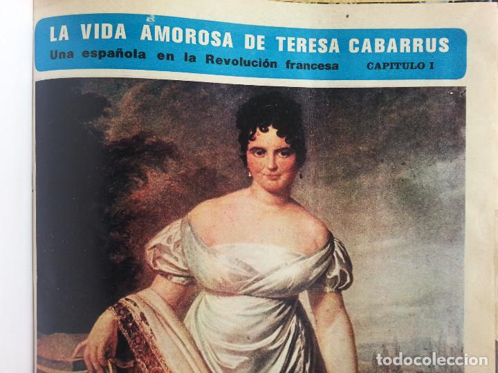 LA VIDA AMOROSA DE TERESA CABARRÚS, UNA ESPAÑOLA EN LA REVOLUCIÓN FRANCESA (ENCUADERNADO) - SEMANA (Libros de Segunda Mano - Biografías)