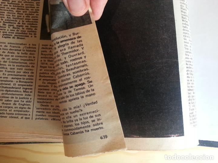 Libros de segunda mano: LA VIDA AMOROSA DE TERESA CABARRÚS, UNA ESPAÑOLA EN LA REVOLUCIÓN FRANCESA (ENCUADERNADO) - SEMANA - Foto 7 - 122607123