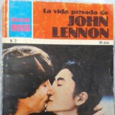 Livros em segunda mão: LA VIDA PRIVADA DE JOHN LENNON - BEATLES - TARQUIMIA 1980 - CON FOTOS. Lote 122908903
