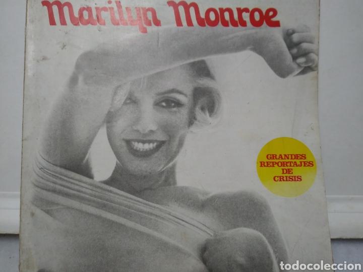 MARILYN MONROE. GRANDES REPORTAJES DE CRISIS. 1974. (Libros de Segunda Mano - Biografías)
