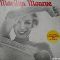 Libros de segunda mano: MARILYN MONROE. GRANDES REPORTAJES DE CRISIS. 1974.. Lote 123129600