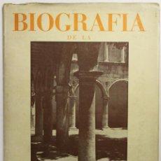 Libros de segunda mano: BIOGRAFÍA DE LA CALLE DE LA FUENTE. - VILAFRANCA DEL PANADÉS, 1946.. Lote 123139975