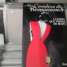Libros de segunda mano: LA ESPÍA QUE VISTIÓ DE ROJO ALINE CONDESA DE ROMANONES. Lote 124905667