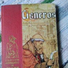 Libros de segunda mano - CISNEROS. COLECCIÓN HERNANDO DE LIBROS PARA LA JUVENTUD. - 125219511