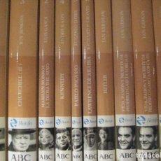 Libros de segunda mano: BIBLIOTECA ABC, PROTAGONISTAS DEL SIGLO XX, 19 LIBROS,SIN ESTRENAR. Lote 125472959