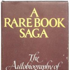 Libros de segunda mano: A RARE BOOK SAGA. THE AUTOBIOGRAPHY OF H. P. KRAUS. - KRAUS, H. P. NEW YORK, 1978.. Lote 123205302