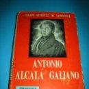 Libros de segunda mano: LIBRO - ANTONIO ALCALA GALIANO - FELIPE XIMENEZ DE SANDOVAL - AÑO 1948 - 483 PAGINAS. Lote 127666071
