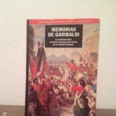 Libros de segunda mano: MEMORIAS DE GARIBALDI . Lote 128056883