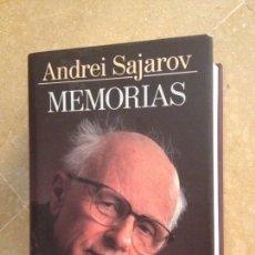 Libros de segunda mano: ANDREI SAJAROV. MEMORIAS. Lote 165679617