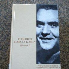 Libros de segunda mano: FEDERICO GRACIA LORCA -- TOMO 1 -- IAN GIBSON -- EDICIONES FOLIO 2003 -- . Lote 128670895