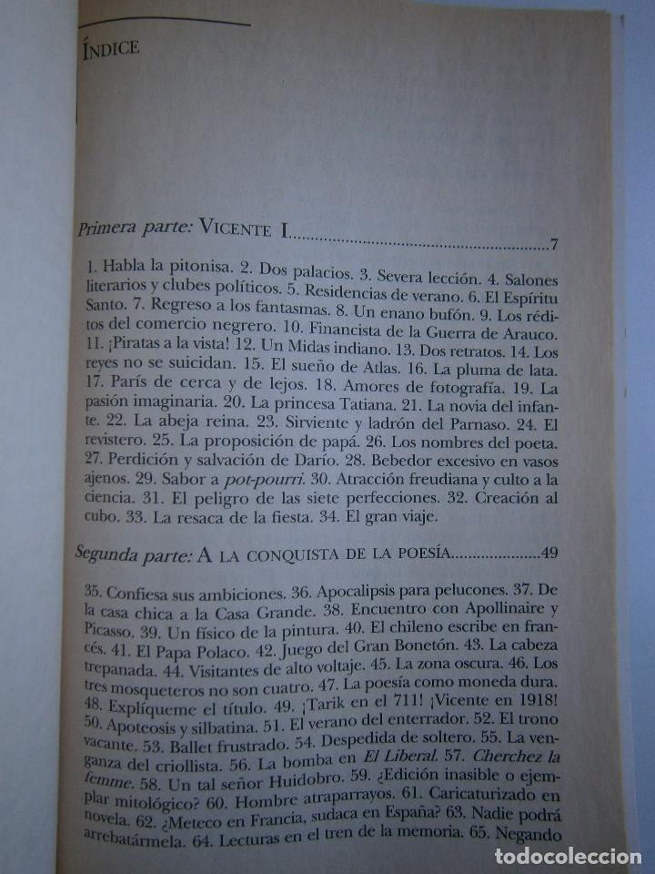 Libros de segunda mano: HUIDOBRO LA MARCHA INFINITA Volodia Teitelboim 2006 - Foto 11 - 128803555