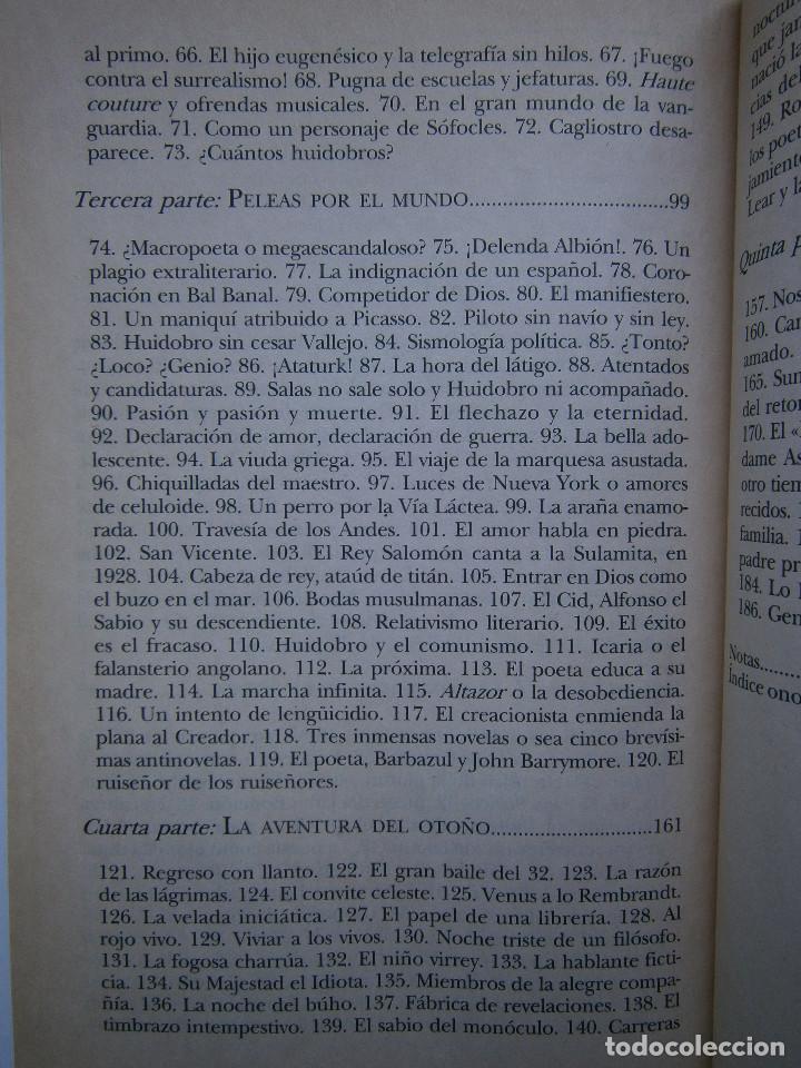 Libros de segunda mano: HUIDOBRO LA MARCHA INFINITA Volodia Teitelboim 2006 - Foto 12 - 128803555