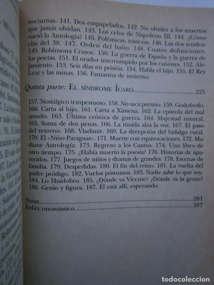 Libros de segunda mano: HUIDOBRO LA MARCHA INFINITA Volodia Teitelboim 2006 - Foto 13 - 128803555