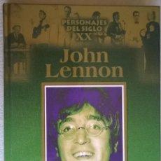 Libros de segunda mano: JOHN LENNON, PERSONAJES DEL SIGLO XX. Lote 129446291