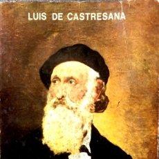 Libros de segunda mano: VIDA Y OBRA DE IPARRAGUIRRE. LUIS DE CASTRESANA.. Lote 129462671