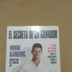 Libros de segunda mano: NOVAK DJOKOVIC , EL SECRETO DE UN GANADOR. Lote 129478791