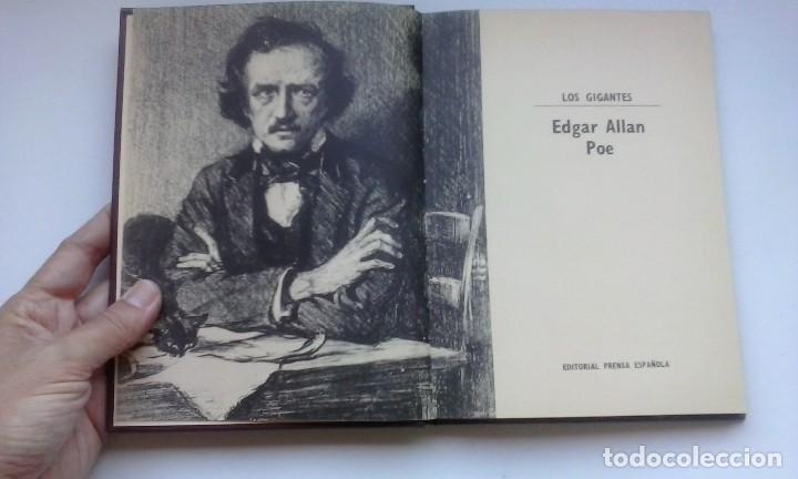 Libros de segunda mano: Edgar Allan Poe (1971). Prensa Española. Los gigantes: la nueva biblioteca para todos; 7. - Foto 3 - 129541803