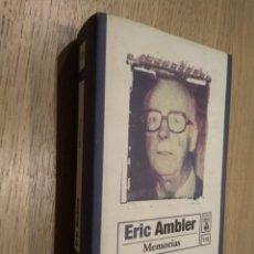 Libros de segunda mano: ERIC AMBLER MEMORIAS . Lote 129778755