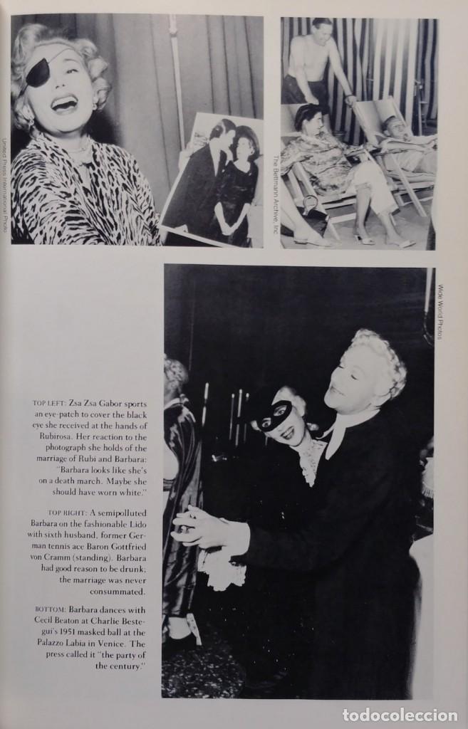 Libros de segunda mano: POOR LITTLE RICH GIRL: THE LIFE AND LEGEND OF BARBARA HUTTON / C. DAVID HEYMANN. RANDOM HOUSE, 1983. - Foto 4 - 130634018