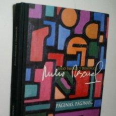 Libros de segunda mano: PÁGINAS, PÁGINAS. PASCUAL JULIO. 2002. Lote 130854896