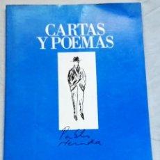 Libros de segunda mano: CARTAS Y POEMAS; PABLO NERUDA - BANCO EXTERIOR DE ESPAÑA 1990 . Lote 131106336