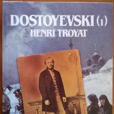 Libros de segunda mano: DOSTOYEVSKI (1), HENRI TROYAT, NUEVO, SIN ABRIR. Lote 131435318