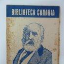 Libros de segunda mano: BIBLIOTECA CANARIA. SABINO BERTHELOT. ELÍAS ZEROLO. Lote 133003678