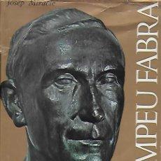 Libros de segunda mano: POMPEU FABRA / JOSEP MIRACLE. BCN : AYMÀ, 1968. 22X17CM. 599 P.. Lote 133384918