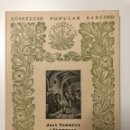 Libros de segunda mano: JOAN TORRENT. SANT ANTONI MARIA CLARET. 1953. Lote 133628058